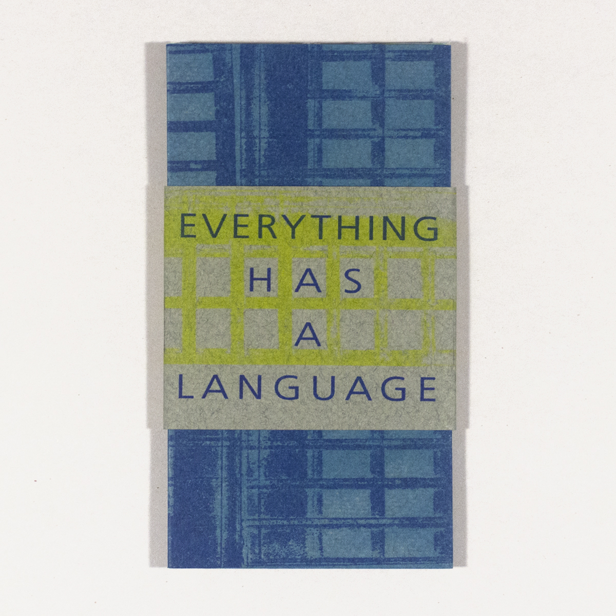 Everything Has a Language Cover