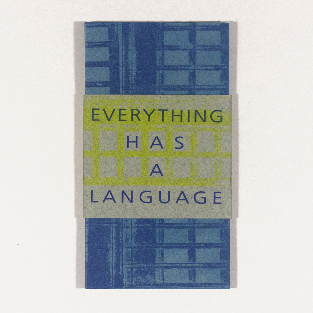 """""""Everything Has a Language"""" Cover"""
