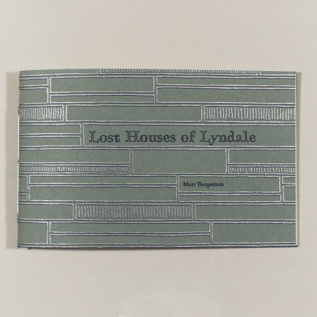 Lost Houses of Lyndale, front outside cover