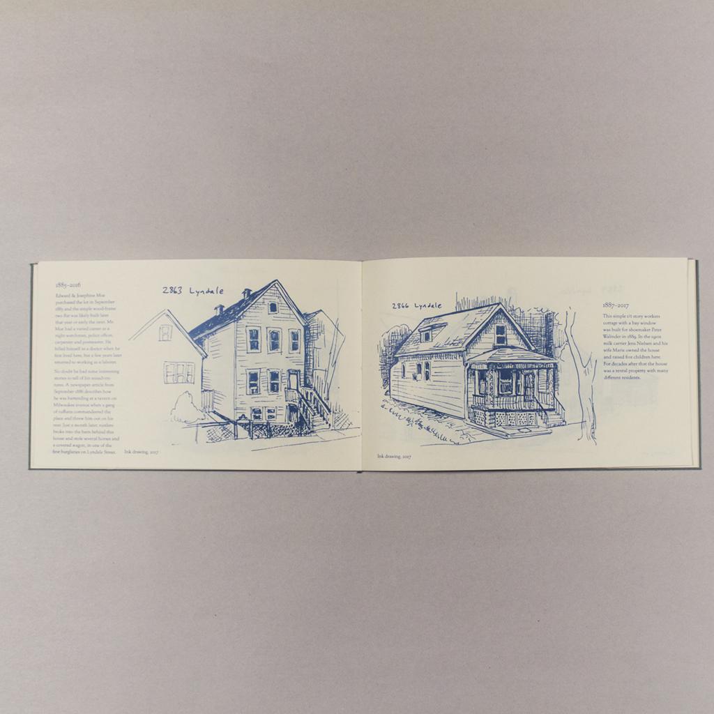 Lost Houses of Lyndale, inside spread 1