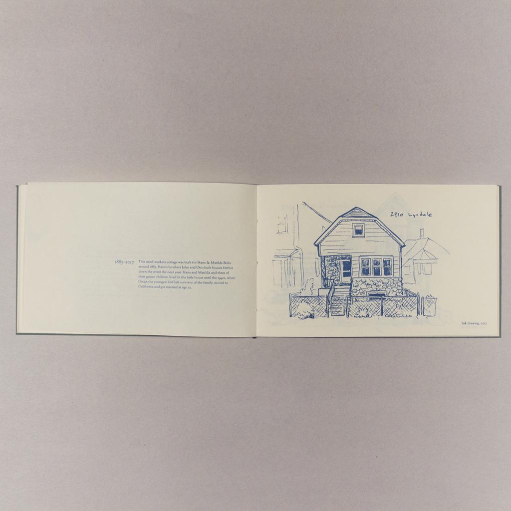 Lost Houses of Lyndale, inside spread 3