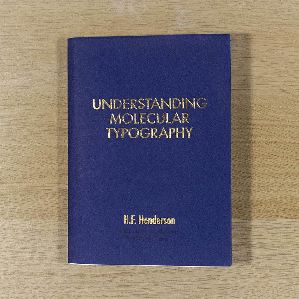 Understanding Molecular Typography Cover